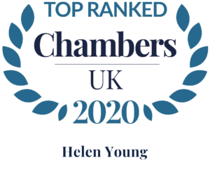 Top ranked Chambers and Partners UK 2020 Helen Young