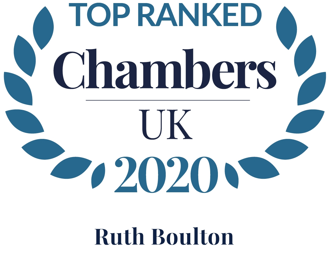 Top ranked Chambers and Partners UK 2020 Ruth Bolton