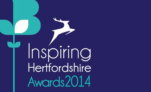 Inspiring Hertfordshire Awards 2014 logo