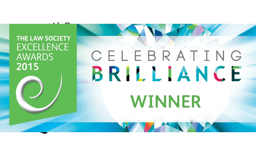 The Law Society Excellence Awards 2015 logo