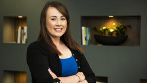 Stephanie Kempthorne, legal assistant at Debenhams Ottaway