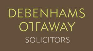 Debenhams Ottaway brown square logo