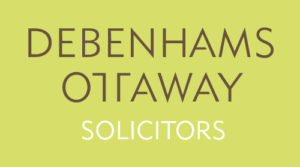 Debenhams Ottaway green square logo