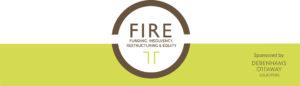 FIRE event website banner and branding
