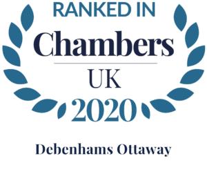 Chambers and Partners UK 2020 Debenhams Ottaway