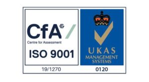 CFA ISO 9001 accreditation logo