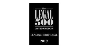 The Legal 500 leading individual 2019