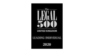 The Legal 500 leading individual 2020